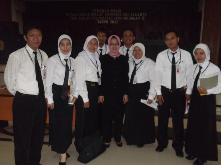 foto bareng kepala BKD DKI Jakarta
