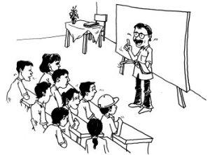 Untuk menjadi seorang guru seseorang harus menguasai  4 Kompetensi Yang Kudu Dikuasai seorang GURU