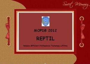MOPDB REPTIL